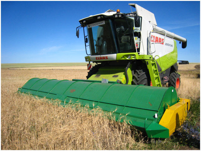Заказать Уборка зерновых комбайн Claas