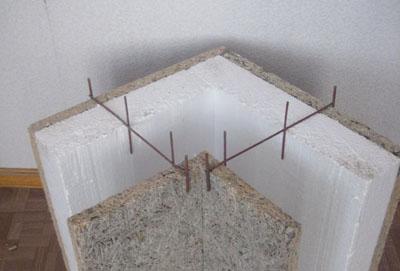 Заказать Строительство с несъемной опалубкой из щепоцементных плит