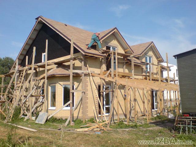 Строительство. Украина, Киевская обл. Строительство коттеджей по канадской деревянно-каркасной технологии. Возможность просмотра построенных домов. Цены антикризисные.