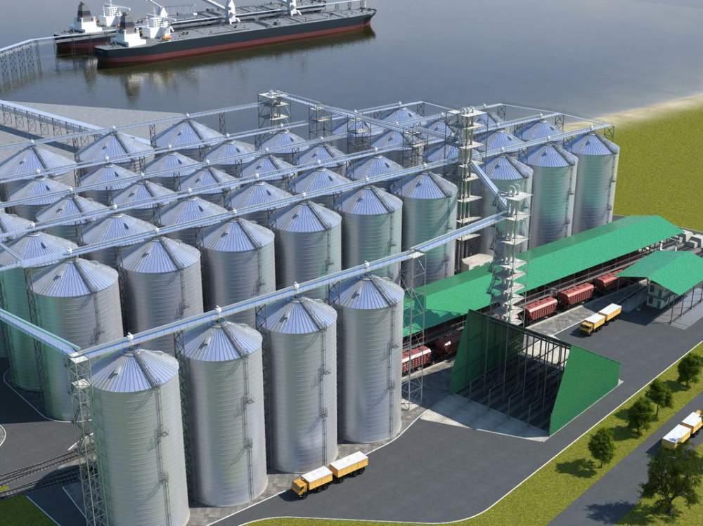 Проектирование элеваторов и зернохранилищ какие есть современные предприятия на которых используется конвейер