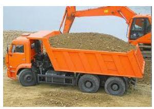 Заказать Доставка песка от производителя, речной песок высокого качества.