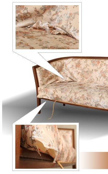 Заказать Ремонт и реставрация мягкой мебели Киев