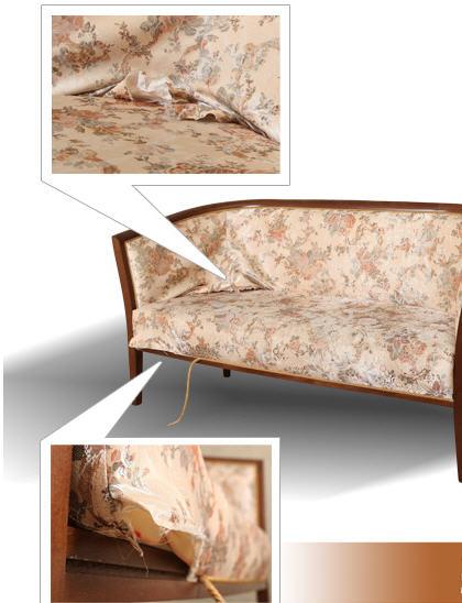 Заказать Перетяжка мягкой мебели недорого Киев