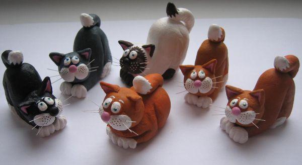 Поделки котам
