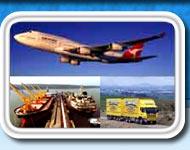 Order International freight transportation