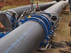 Реконструкция трубопровода, ремонт трубопровода, технология ремонта трубопровода Одесса