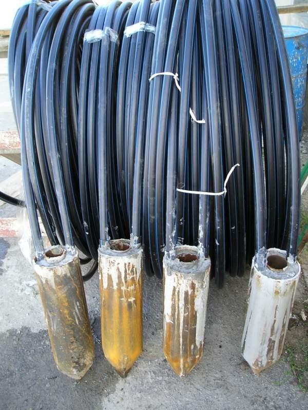 Изготовление теплообменника, грунтовый теплообменник,  расчет грунтового теплообменника, установка теплообменника в Одессе