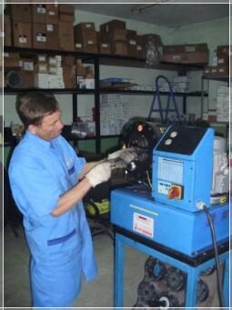 Производство рукавов высокого давления