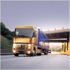 Заказать Перевозка грузов автомобильным транспортом.
