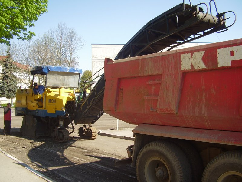 Заказать Демонтаж (фрезерование) дорожного асфальтобетонного покрытия в Калуше