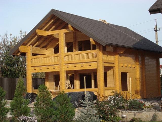 Строительство дачных домиков. Проектирование и  строительство коттеджей из клееного  профилированного бруса «под ключ». Возможность просмотра построенных домов. Цены приемлемые.