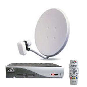 Заказать Установка спутниковых антенн, спутниковый ресивер, спутниковое телевидение в Жашковском районе Черкасской области