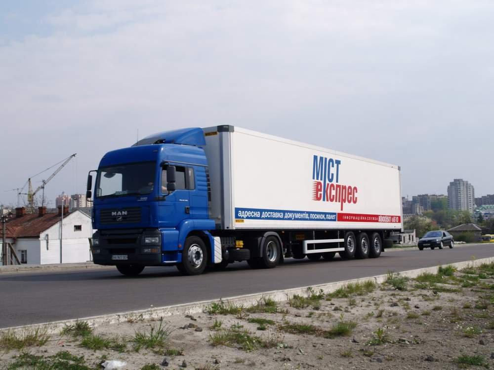 Замовити Експрес доставка запчастин до вантажних автомобілів