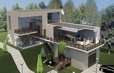 Дизайн экстерьеров зданий