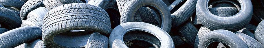 Заказать Сбор, заготовка и переработка изношенных шин