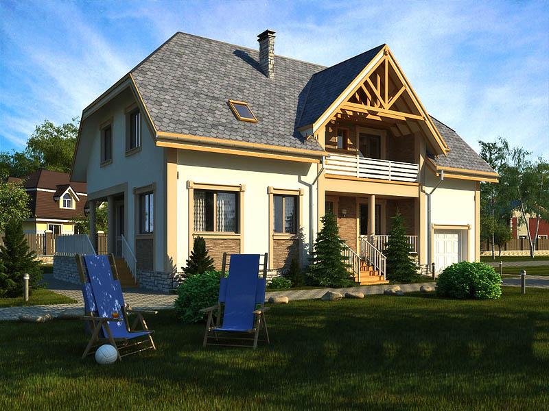 Проекты домов (индивидуальные, типовые)