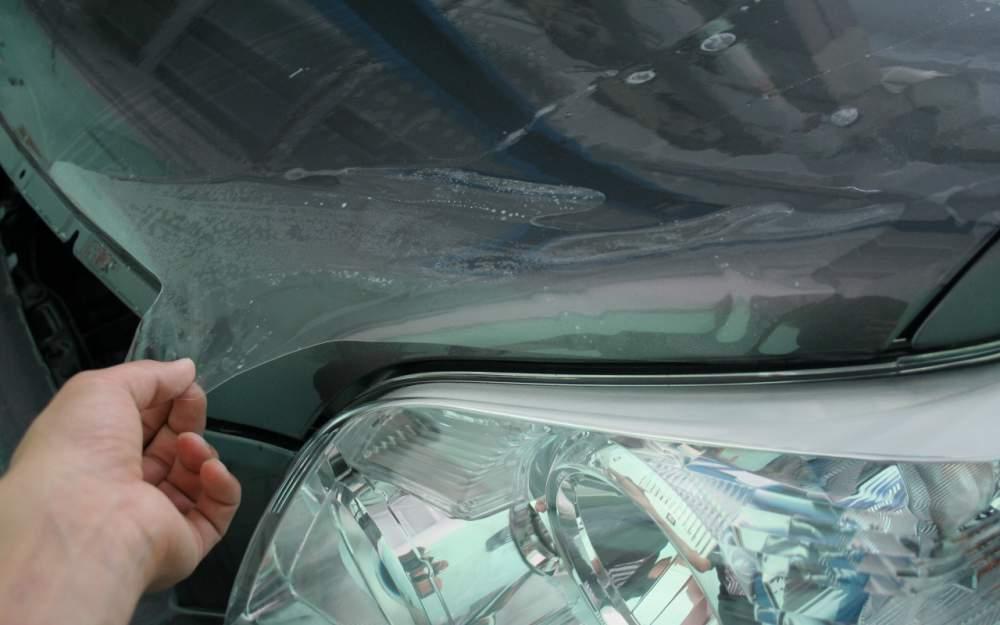 Антигравийная защита кузова автомобиля пленкой.оклейка броне пленкой окрашенных поверхностей и оптики авто. - Онли стайлинг(ONLY