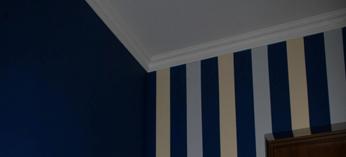 Отделка стен покраска потолков в