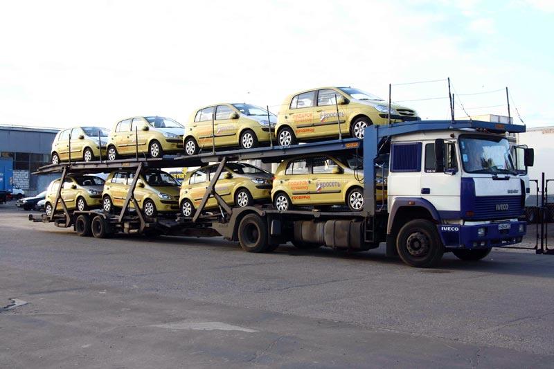 Заказать Перевозки автомобильные