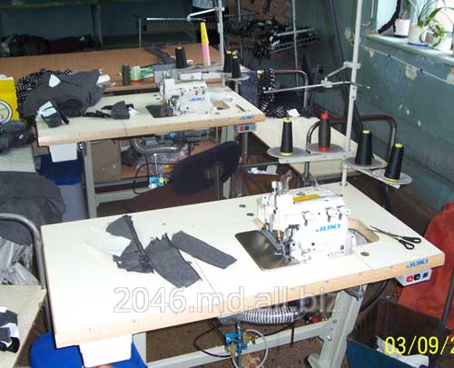 Заказать Обработка края изделия одежды на швейном оборудовании Juki