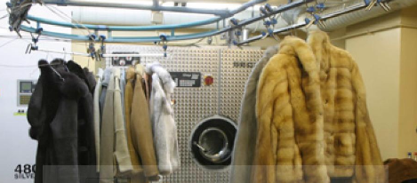 Dry-cleaner and painting of sheepskin coats, products from skin ...