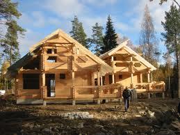 Заказать Строительство коттеджей из дерева