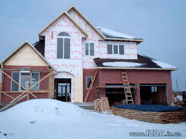 """Заказать Фасадные работы. Проектирование и cтроительство коттеджей. Украина. Строительство малоэтажное """"под ключ"""". Устройство фундамента. Кладка: кирпич, блок, керамический блок, пеноблок, газоблок. Кровельные работы всех видов. Комплекс фасадных работ."""