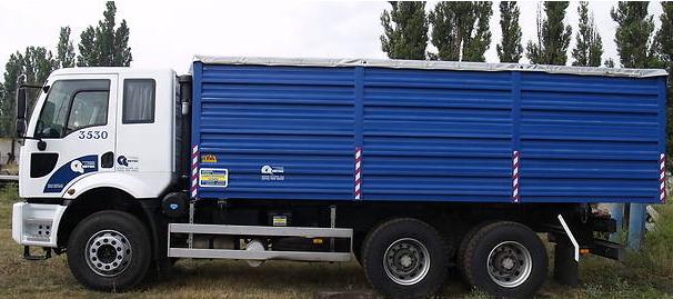 Заказать Аренда зерновоза Ford Cargo с прицепом, любые грузоперевозки по Украине