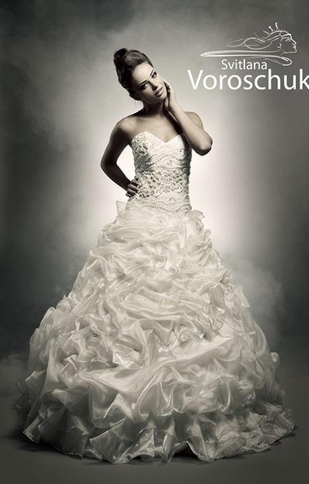 Пошив на заказ эксклюзивных свадебных платьев от Светлана Ворощук Svetlana Voroschuk ™