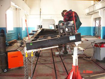 Заказать Восстановление геометрии рам, кузовов и кабин
