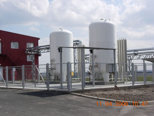 Order Installation of the cryogenic equipment.