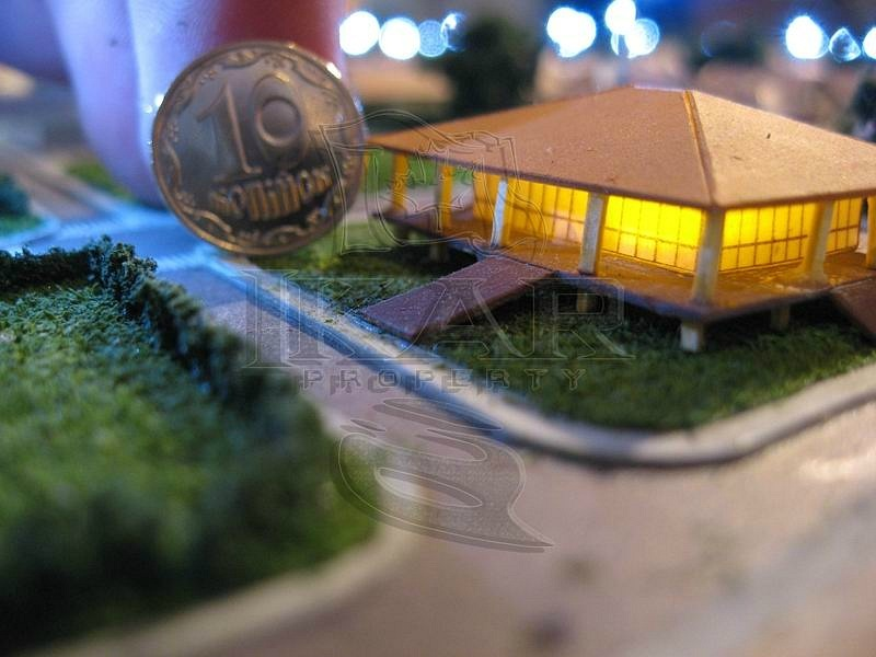 Order Architectural model of the cottage town