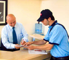 Order Delivery of documents