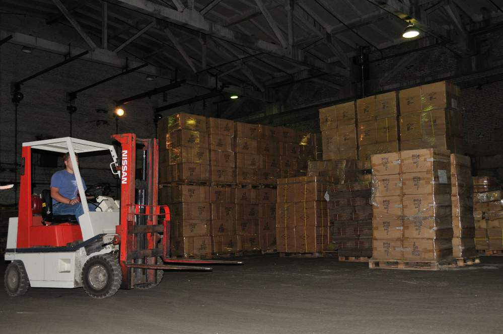 Order Services of open warehouse areas
