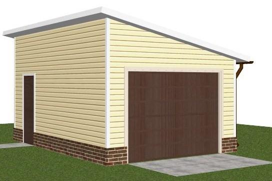Из чего построить гараж дешево и быстро