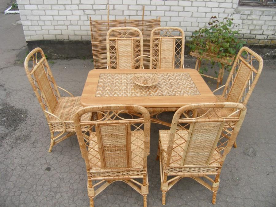Заказать Изготовление мебели под заказ. Изготовление мебели из лозы и дерева.