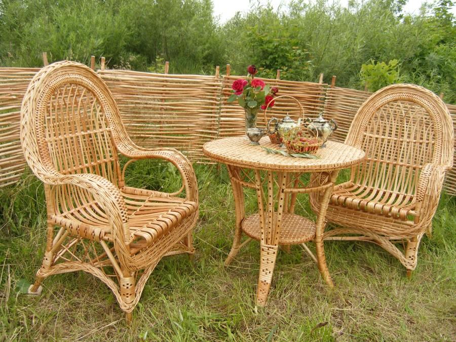 Заказать Производство мебели, мебель из дерева и лозы, плетеная мебель