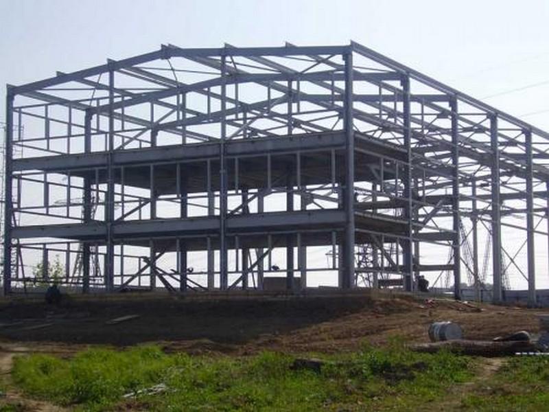 Строительство промышленных зданий из