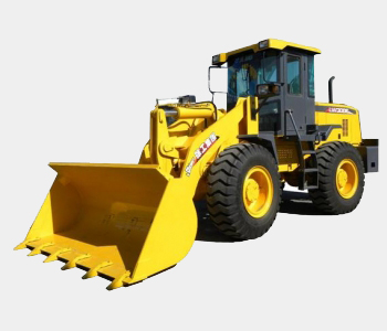 Spare parts on the wheel loader