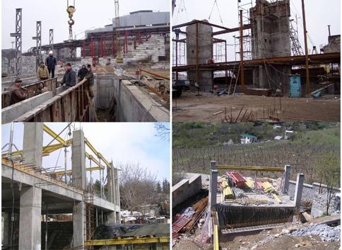 Заказать Железнобитонные и бетонные монолитные работы