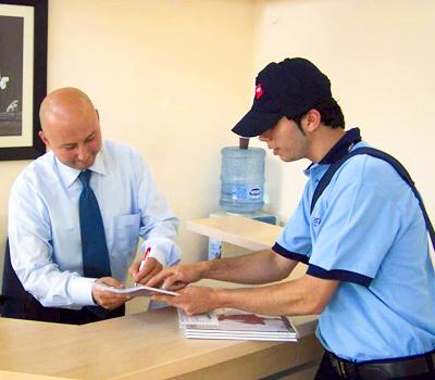 Заказать Доставка документов и писем, почтовая отправка