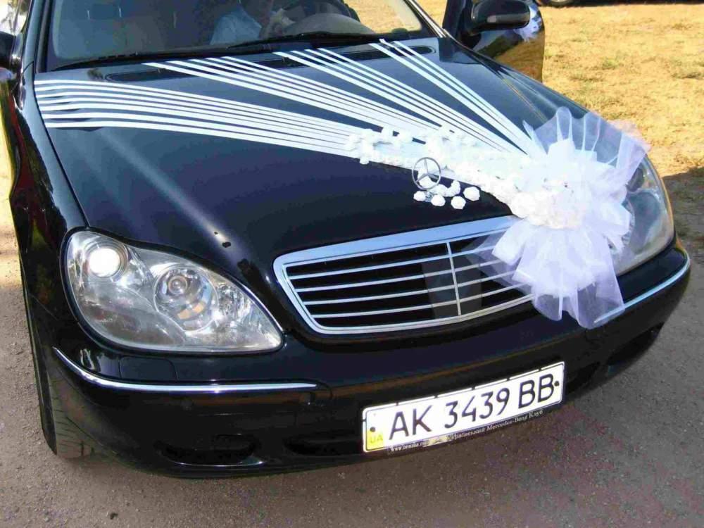 Оформление машины на свадьбу фото