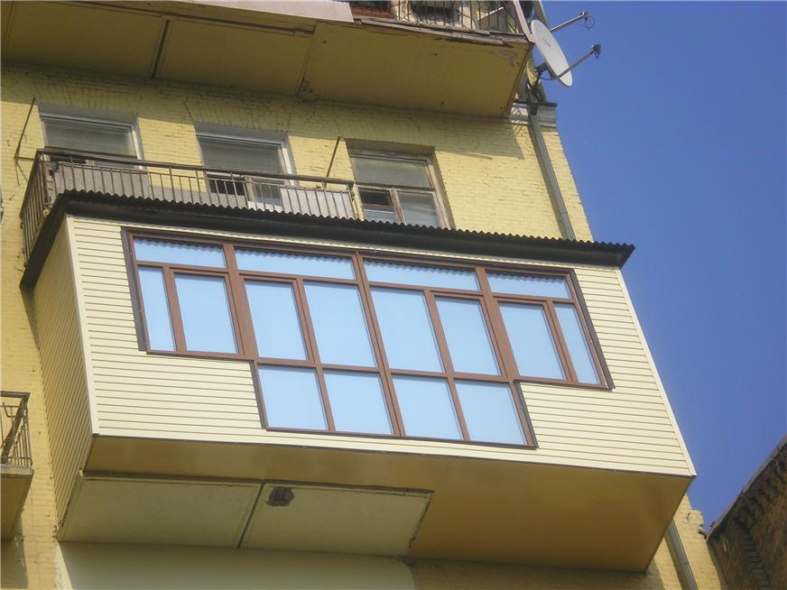 Строительство балконов от фирмы Балко