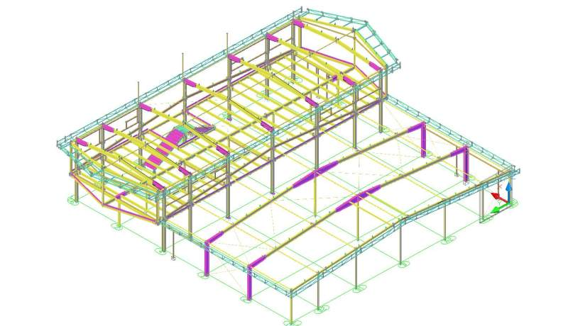 Проэктирование металических конструкций