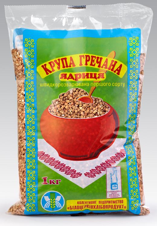 Переработка зерна гречихи