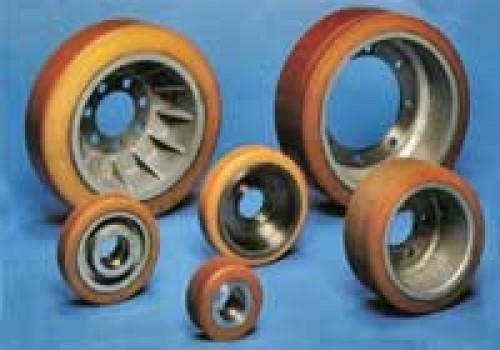Восстановление покрытия колес, роликов, валов