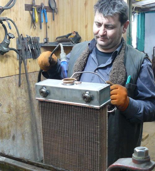 Ремонт радиаторов любой сложности на все виды техники