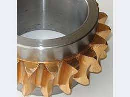 Processing of non-ferrous metals on lathes