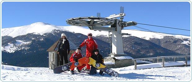 Заказать Лыжные снежные трассы, горнолыжный отдых в Закарпатье
