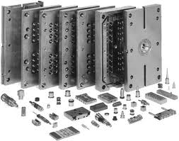 Production of stamps and compression molds